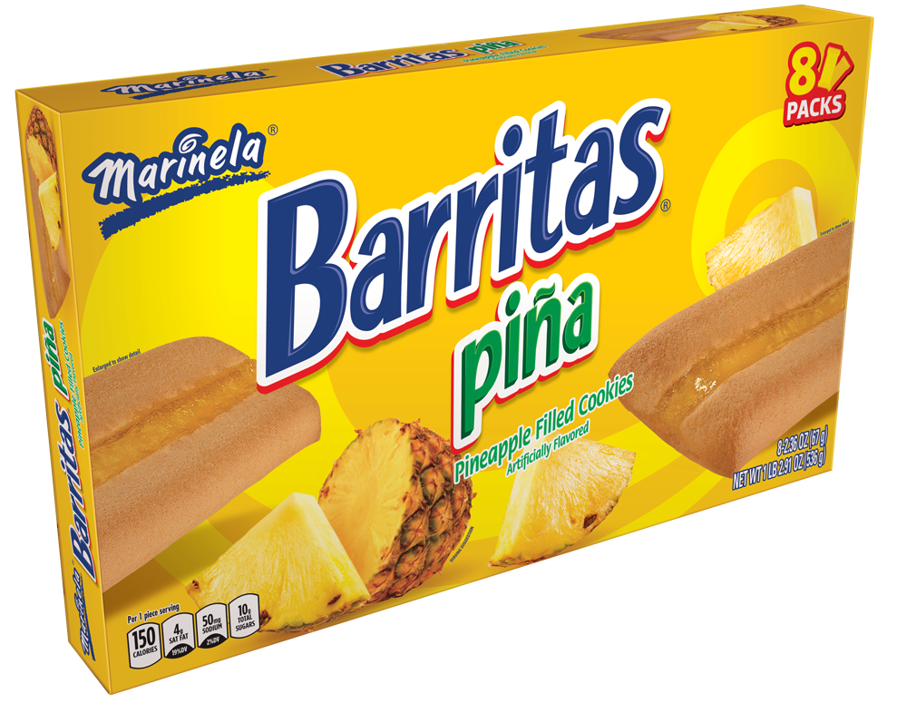 Barritas Piña 8 packs